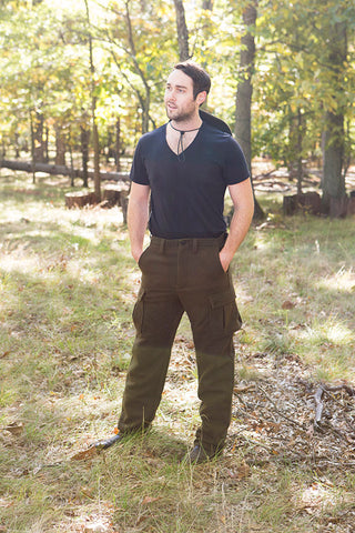 WeatherWool Advisor Chase Burnett in Drab Pants and Big Brim Boonie (Hanging from neck)