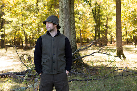 WeatherWool Advisor Chase Burnett in Drab Pants and Boonie Hat