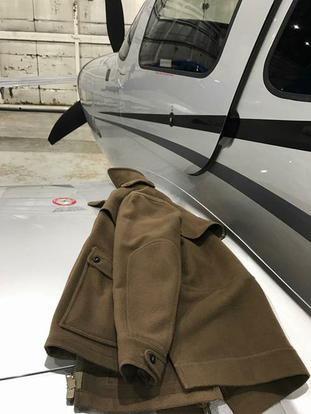 WeatherWool All-Around Jacket going flying!