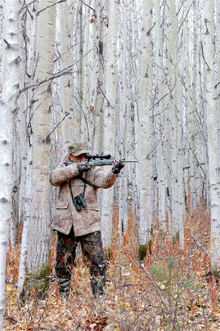 Veteran outdoor pro Ron Spomer is very keen on his All-Around Jacket in Lynx Pattern