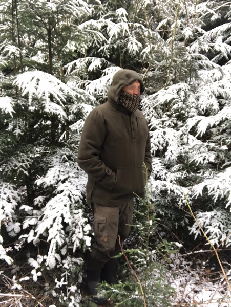 WeatherWool Anorak tested and enjoyed by an off-duty British SAS Operator in winter