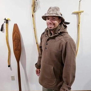 WeatherWool Advisor Raycen Raines is an extremely experience outdoorsman.  Here he wears a Walker Hat and Al's Anorak.