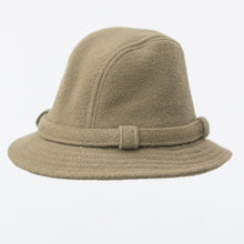 WeatherWool Walker Hat in Pure Wool Sheds a great deal of tough weather ... Walker Hat in Drab, Merino Wool, Made in USA