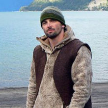 WeatherWool Advisor Bill McConnell, from Dual Survival, wore a WeatherWool Anorak in Lynx Pattern for the Chilean Survival Challenge