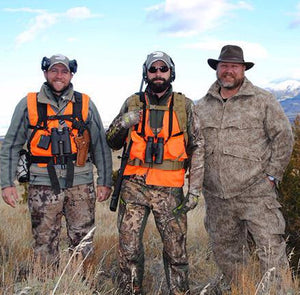 WeatherWool Advisor Heath Gunns, of Idaho, hosts Wounded Veterans with Honored American Veterans Afield
