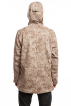 WeatherWool Anorak in Lynx Pattern, extremely versatile All-Purpose Pure Merino, City or Country