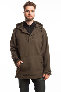 WeatherWool Anorak in Solid Drab Color is much favored by US Military Special Forces