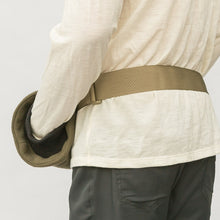 WeatherWool Mouton Hand Muff Lined with Extremely plush and warm natural mouton (lamb's) pelt .. Nylon Belt come with Muff