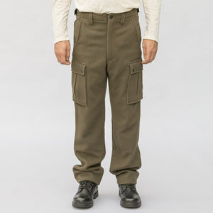 WeatherWool Drab hunting pants have generous gusset pockets