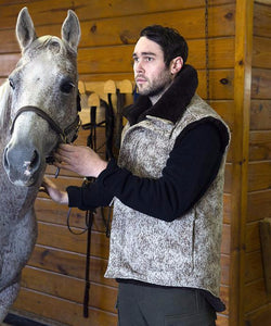 Mouton Vest from WeatherWool Wool Merino, Hunting, Equestrian, Fashion