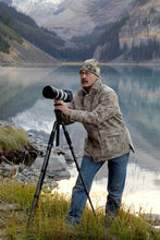 WeatherWool All-Around Jacket in proprietary Lynx Pattern worn by professional outdoorsman, writer and photographer Ron Spomer