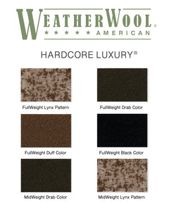 WeatherWool Fabric Samples -- Free