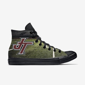 Jenks Logo Green Allstar Womens High Top