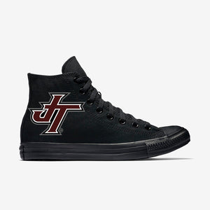 Jenks Logo Black Allstar  High Top