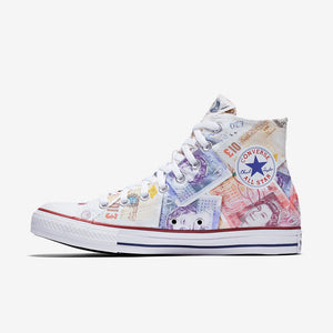 British Pound Allstar  High Top
