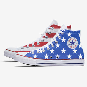 American Flag Hightops