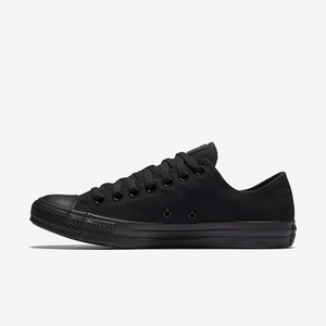 Converse Chuck Taylor All Star Unisex Low Top Black Mono