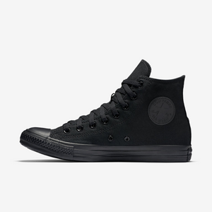 Converse Chuck Taylor All Star Unisex High Top Black Mono