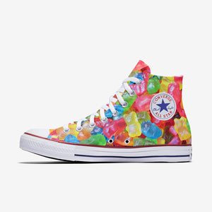 Allstar Womens Gummie Bear High Top