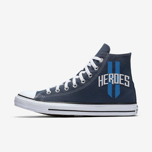 WFC Heroes - Navy High Tops