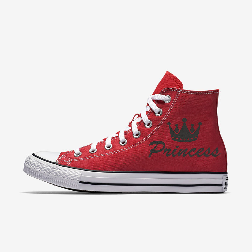 Allstar Womens Princess Crown High Top