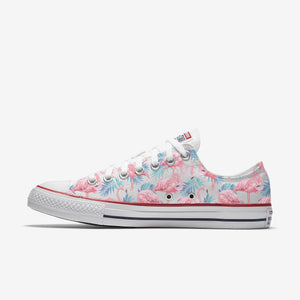 Flamingo Low Tops - White