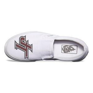 Jenks  Logo White  Vans Low Top