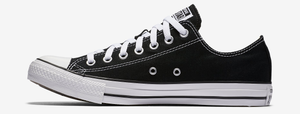 Converse Chuck Taylor All Star Womens Low Top Black