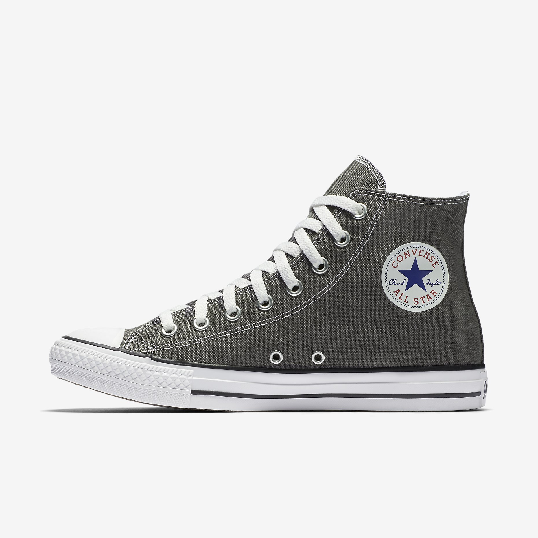 e6073749c569 Converse Chuck Taylor All Star Unisex High Top Charcoal – DIYkicks