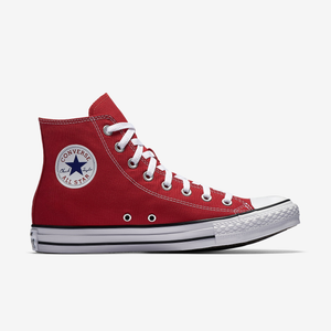 Converse Chuck Taylor All Star Unisex High Top Red