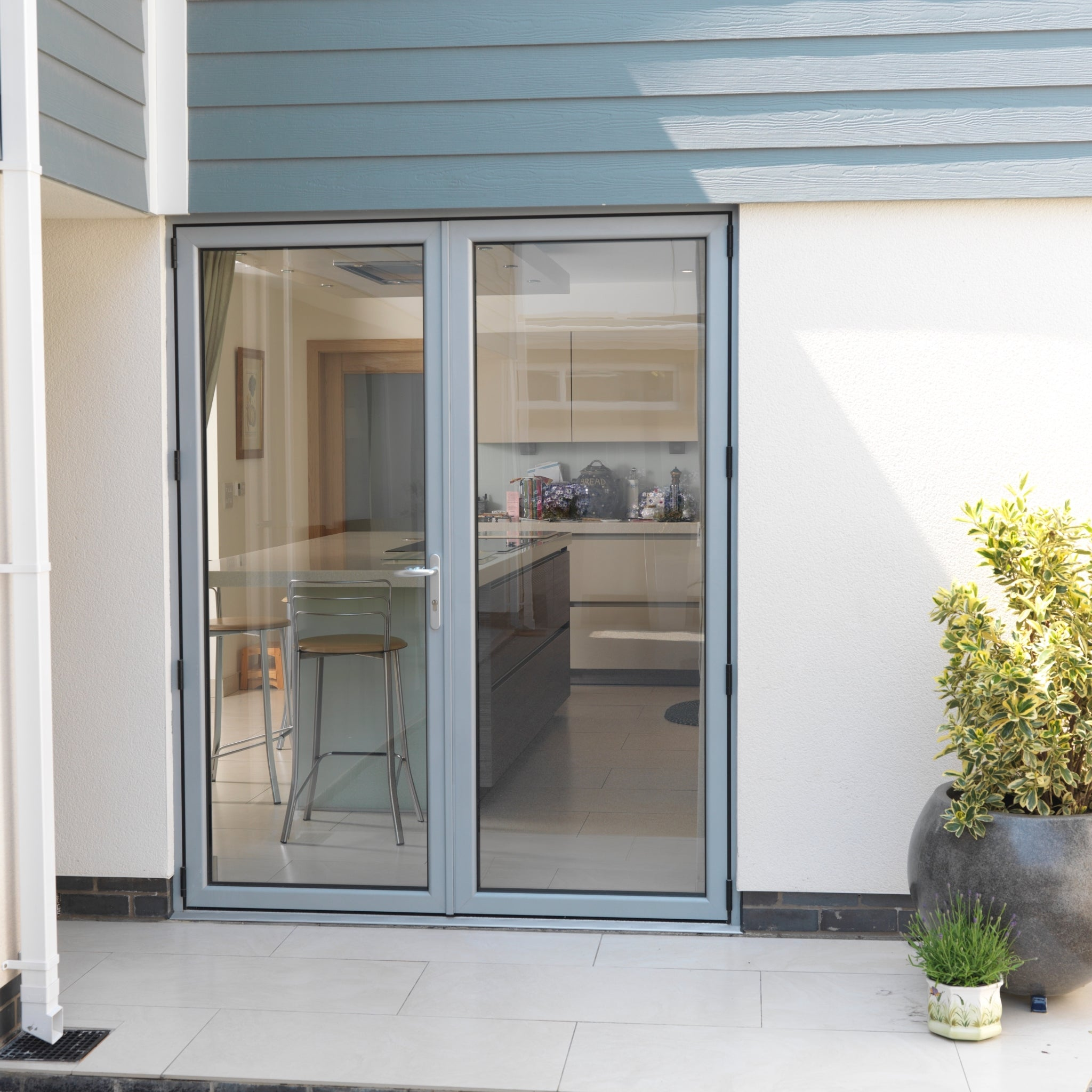 French doors, specify size & style – Horizon Aluminium Bifold Doors