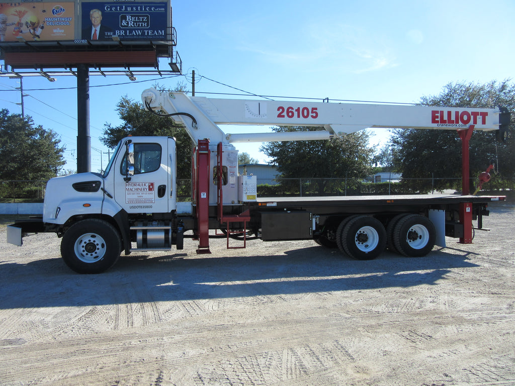 Congratulations to Seminole Machine & Welding Inc for the purchase of their Elliott 26105