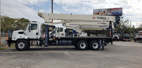 Terex BT5092 Boom Truck on A Freightliner 108SD SN: 241355
