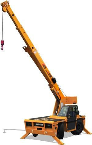 New Broderson IC-100-A Industrial Carry Deck Crane