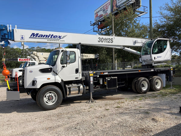 2020 Manitex 301112S sn 281987 Boom Truck on A 2020 Freightliner 108SD
