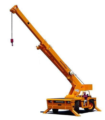 New Broderson IC-200 Industrial Carry Deck Crane
