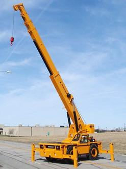 New Broderson IC-400-A Industrial Carry Deck Crane