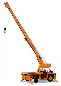 New Broderson IC-80 Industrial Carry Deck Crane