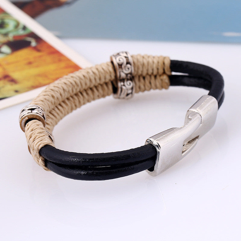 High Quality Hipster Cowhide Bracelets - thehipsterinyou