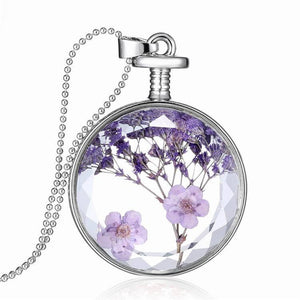 Beautiful And Elegant Lavender Necklace - thehipsterinyou