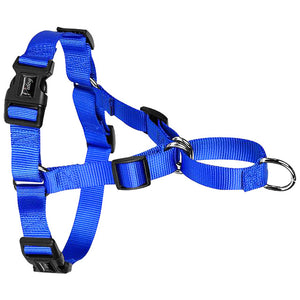 No Pull  Nylon Dog Walking Harness  Vest Fit  S M L XL Black Blue Red - thehipsterinyou