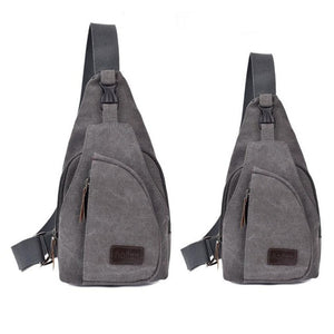 Japan Casual Canvas Mens Crossbody Packs Chest Bag For Male - thehipsterinyou