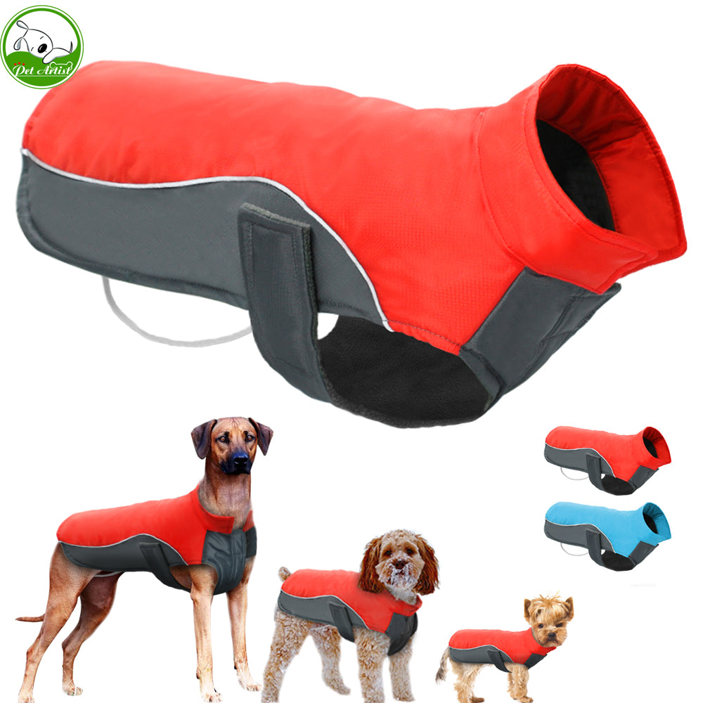 Warm Winter And Waterproof Dog Jacket For Small To Medium And Large Dogs - thehipsterinyou