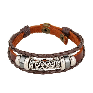 Unisex Leather Bracelet & Bangles Jewelry Very Nice!!! - thehipsterinyou