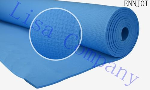 6mm Thick EVA Yoga Mat Pad Non-Slip Yoga Mats Folding Gymnastics for Fitness Slimming Training Mats - thehipsterinyou