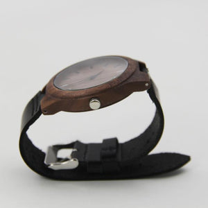 The Hipster Look Is Back With This Leather Bamboo Wooden Watche - thehipsterinyou