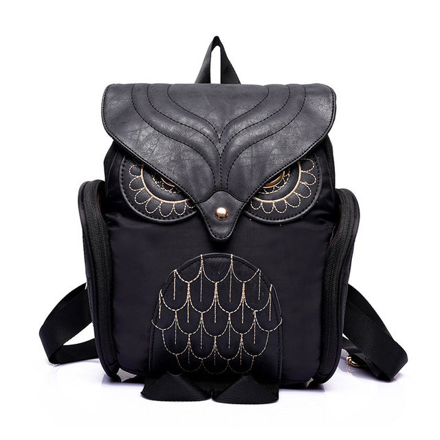 One Of A Kind Owl Women Backpack - thehipsterinyou
