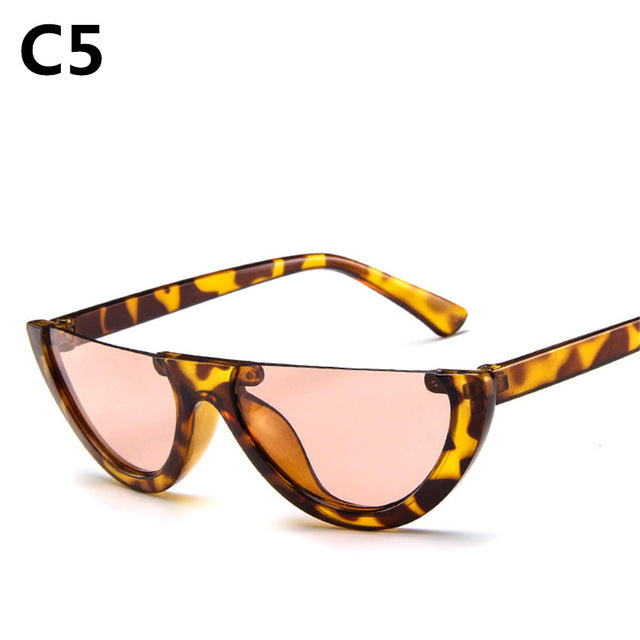 Eye Catching Eye Wear From The Hipster In You Half-box cat eye sunglasses - thehipsterinyou