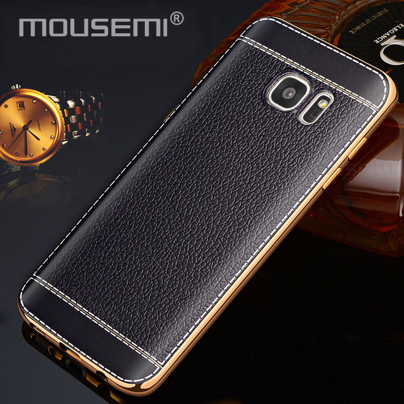 Hipster Looking Samsang Galaxy S8 S7 S6 Edge Plus Funda Leather Case, Phone Cases For Samsung Galaxy Note 4 5 8 3 S8 S7 S6 Edge Case - thehipsterinyou