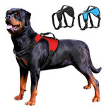 No Pull Dog Harness Large k9 Dog Pet Harness Reflective Quick Control Big Medium Dogs Vest Black Blue Red - thehipsterinyou